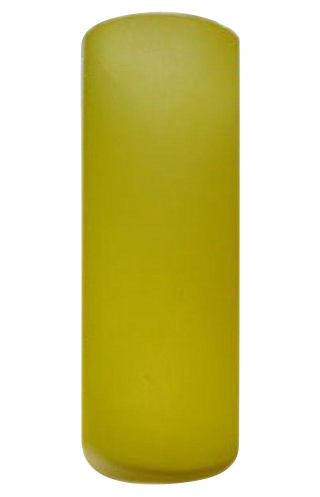 Yellow Italian Glass Vase