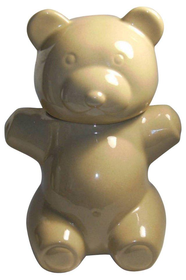 Modern Teddy Bear Cookie Jar