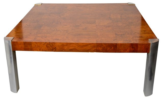 Burled Coffee Table (sold)