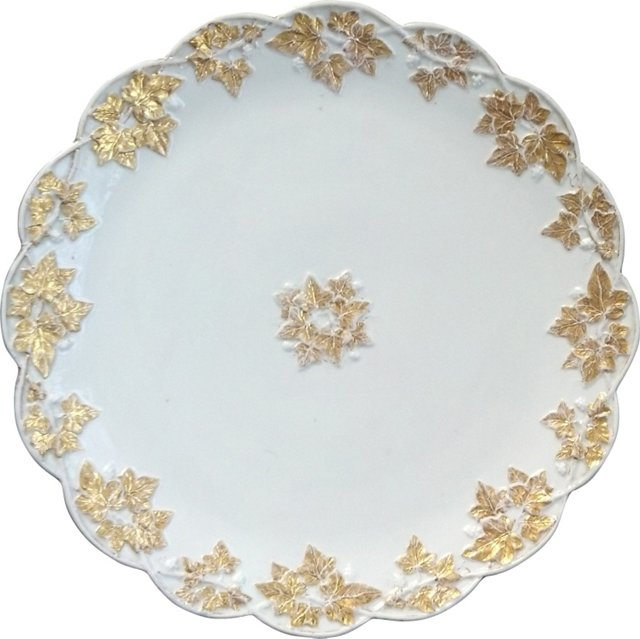 19th-C. Meissen Charger