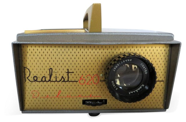 Realist Color Slide Projector
