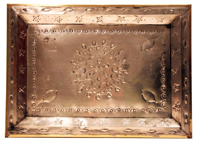 Punched Tin Tray