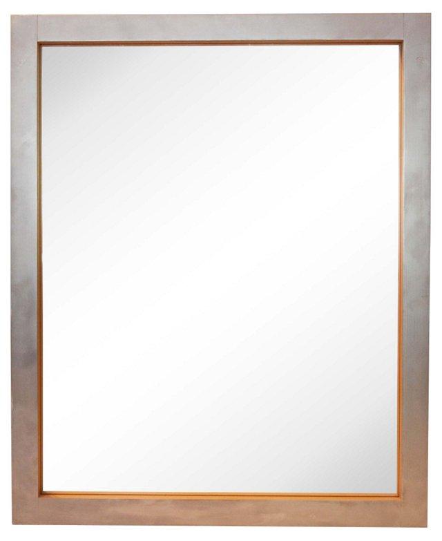 Silvered Maple Mirror