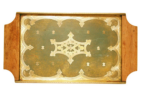 Grammes Engraved Tray