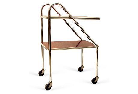 Machine Age Bar Cart