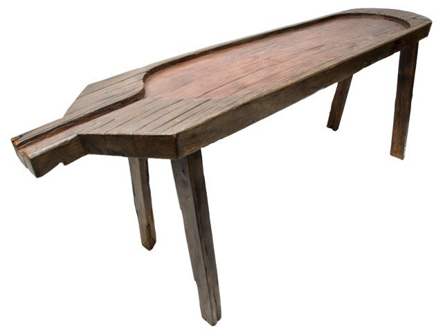 Antique  Brazilian Cheese Curing Table