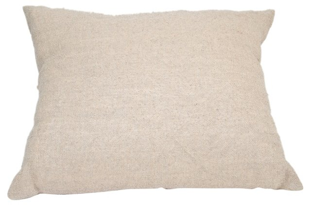 ON HOLD - Natural Linen Pillow w/ Bows