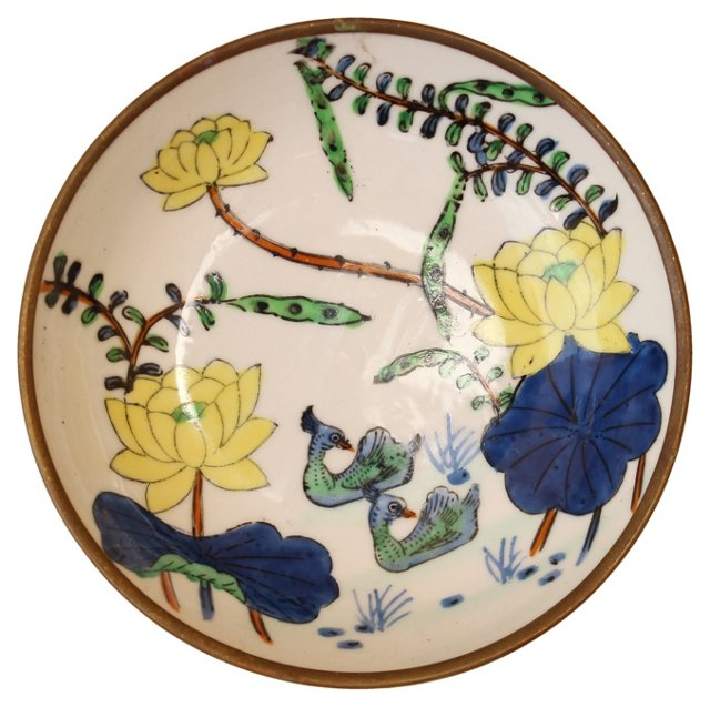 Asian Floral Motif Catchall
