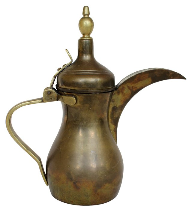 Brass Turkish Teapot