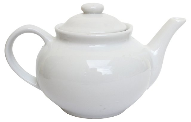 Ironstone Teapot