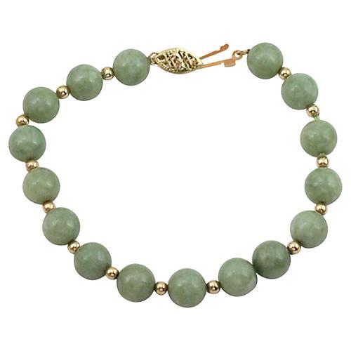 Weiss Green Stone Bracelet