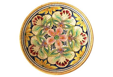 Italian Giotto Ceramic Plate