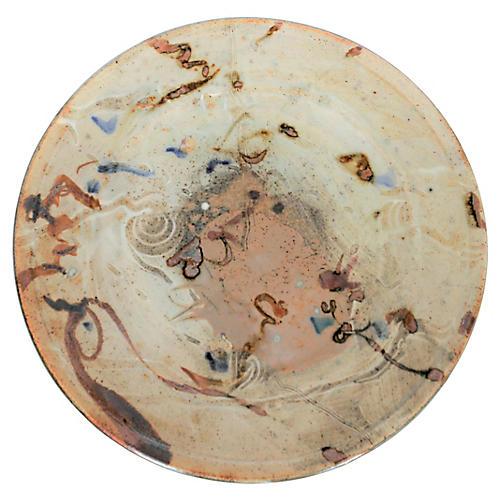 Signed John Glick Artisan Plate