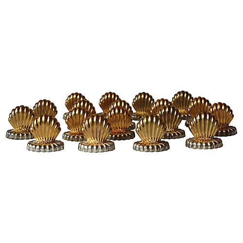 Shell Place Card Holders, S/18
