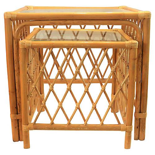 Bambo Nesting Tables S/2
