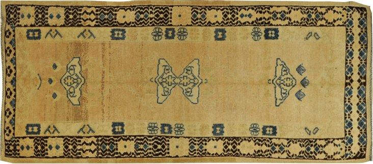 Moroccan Azilal Rug, 3'8'' x 8'6''