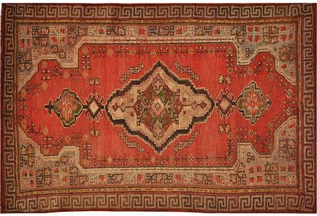 Anatolian Rug, 5'2