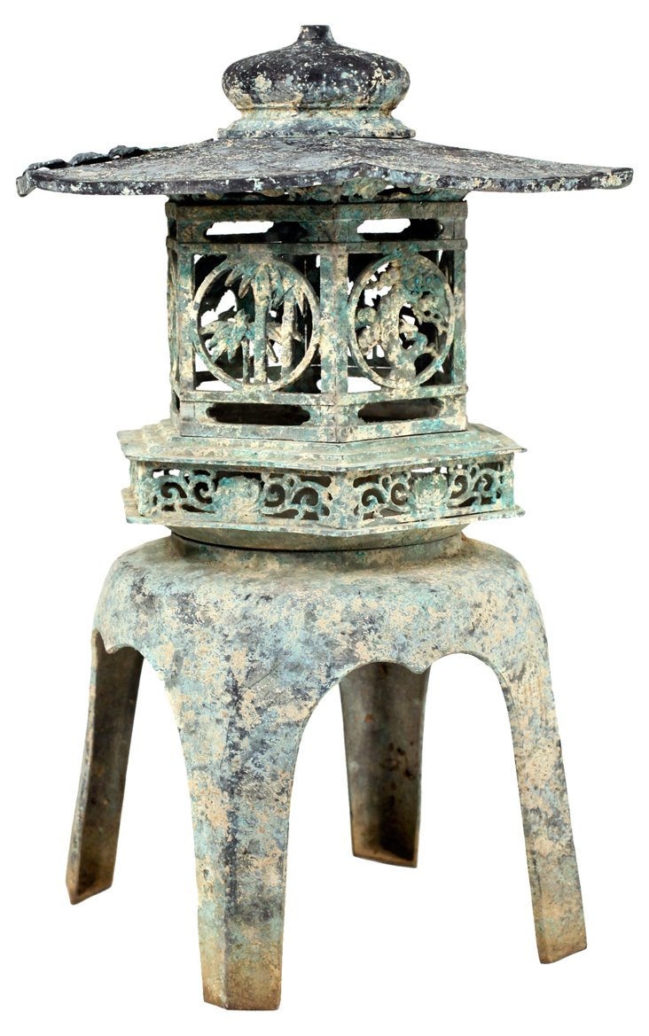 Bronze Pagoda Lantern