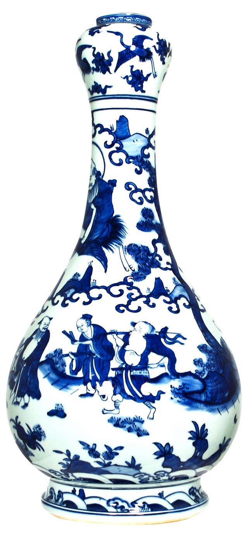 Porcelain Vase w/ Top