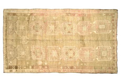 Anatolian Oushak Rug, 13'1