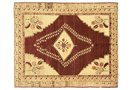 Anatolian Oushak Rug, 5'7