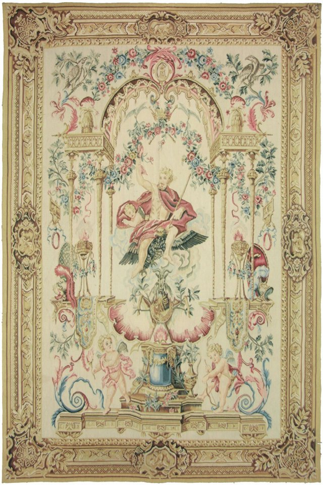 Grotesque-Style Tapestry