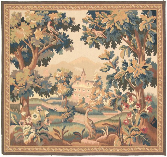 Forest & Castle Tapestry