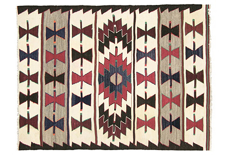Anatolian Turkish Kilim, 3'10