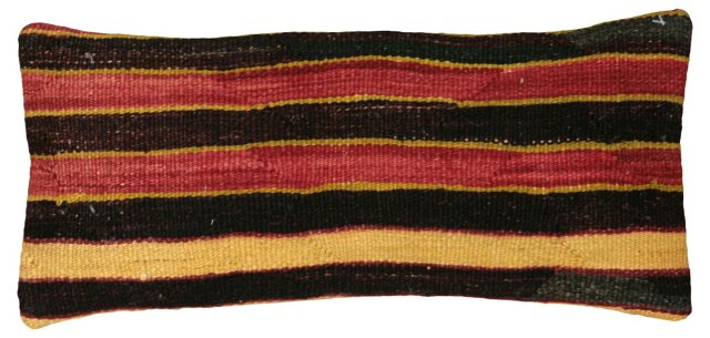 Horizontal Stripe Kilim  Pillow