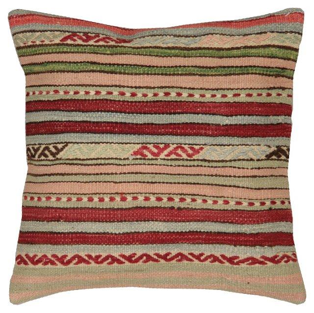 Thin-Stripe     Kilim Pillow