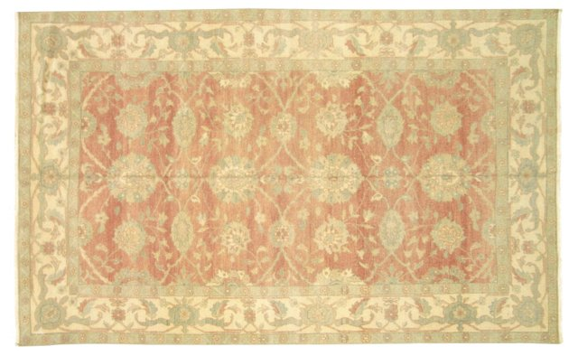 """Sultanabad-Style Rug, 5'10"""" x 9'3"""""""