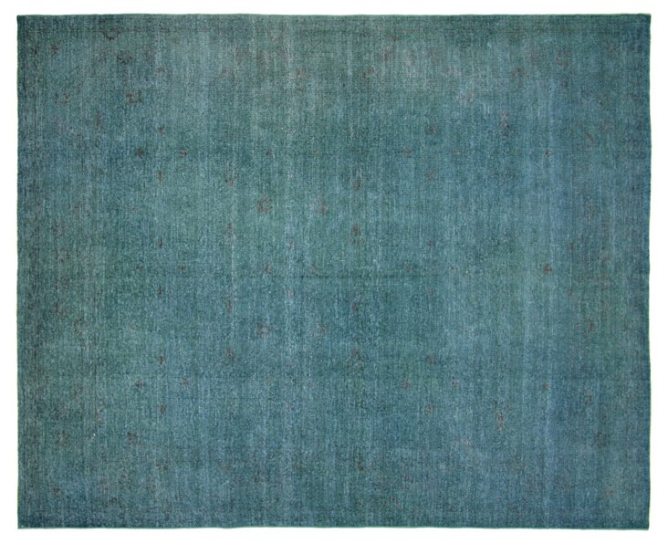"""Overdyed Sultanabad Rug, 7'8"""" x 9'6"""""""