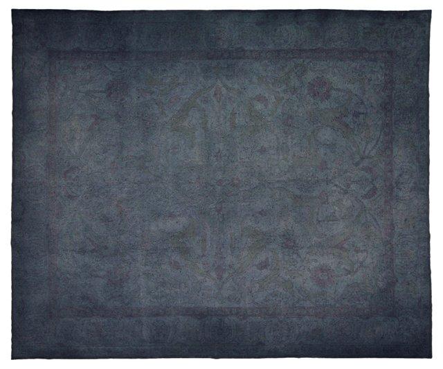 "Overdyed Turkish Carpet, 12'1"" x 14'5"""