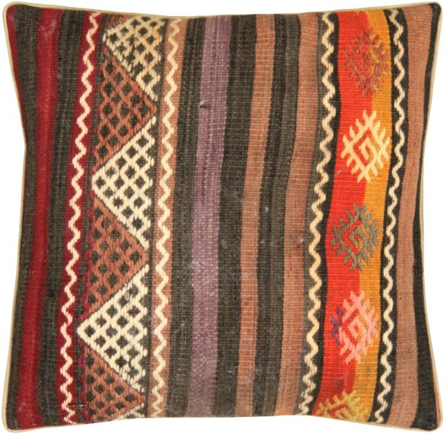 Multicolor Turkish   Kilim Pillow