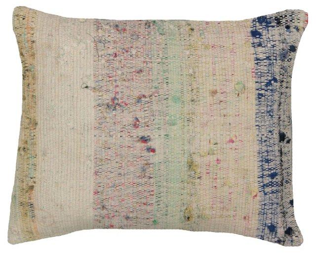 Pastel Adana Rag Rug Pillow