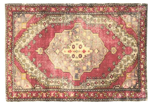 "Anatolian Rug, 4'3""   x 6'"