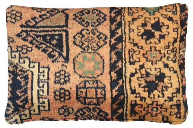 Oushak  Rug  Fragment       Pillow