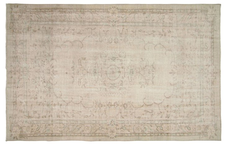 Overdyed Turkish Rug, 6' x   9'6""