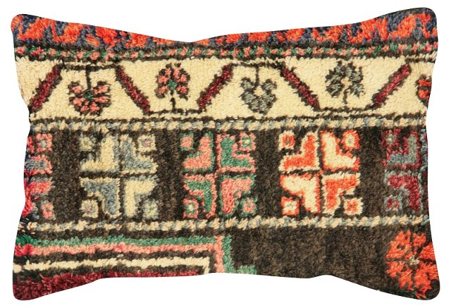 Multicolor  Oushak     Fragment Pillow