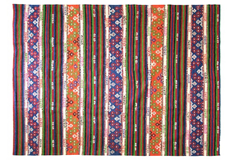 Turkish Kilim, 5'8