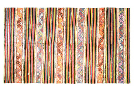 Turkish Kilim, 5'7
