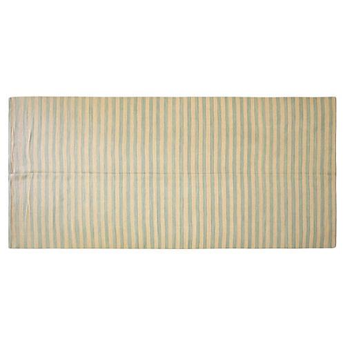 """Egyptian Kilim Stripe Runner, 6'5"""" x 14'"""