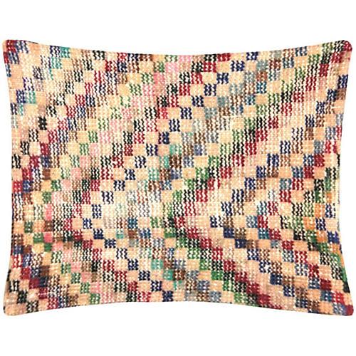 Zigzag Turkish Art Deco Fragment Pillow