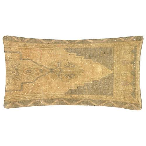 Neutral Oushak Fragment Pillow