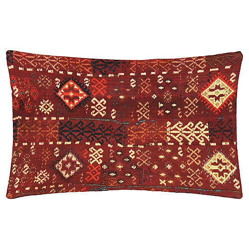Turkish Kilim Lumbar Pillow, 81.