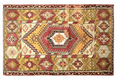 Anatolian Oushak Rug, 4' x 6'