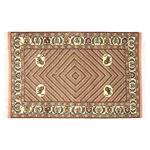Persian Qashqai Rug, 4' x 6'