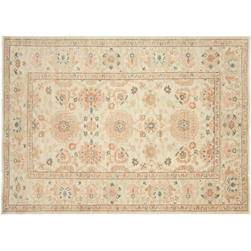 """Sultanabad-Style Rug, 5'4"""" x 7'5"""""""