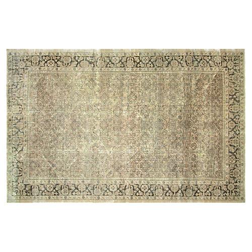 """Antique Persian Mahal Rug, 7'8"""" x 12'5"""""""