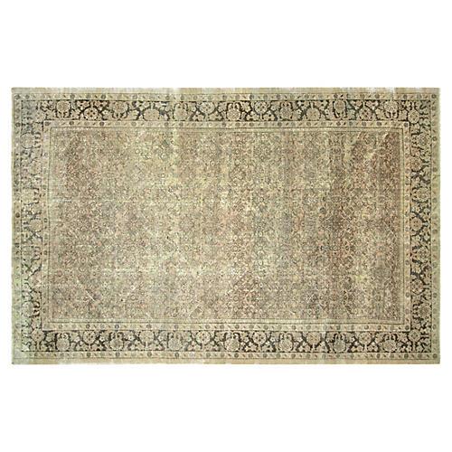 "1940s Persian Mahal Carpet, 7'8"" x 12'5"""